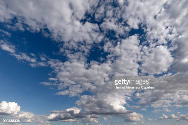 Stratocumulus Cloud, Schleswig-Holstein, Germany