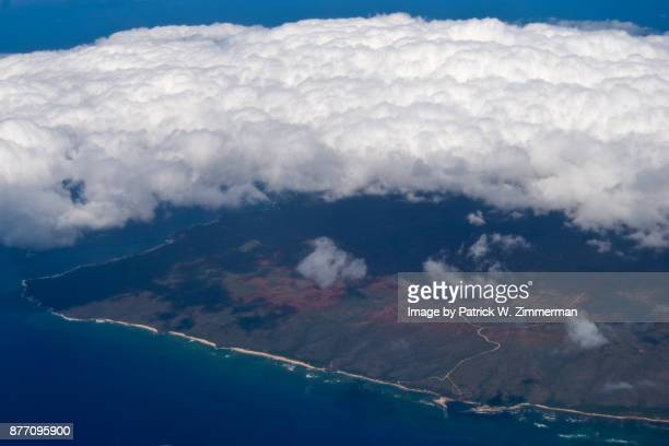 Stratocumulus clouds from above - O'ahu