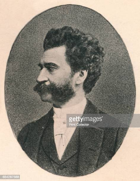 Strauss 1895 Johann Strauss II Austrian composer and son of Johann Baptist Strauss From The Musical Educator Volume III by John Greig MA Mus Doc [T C...