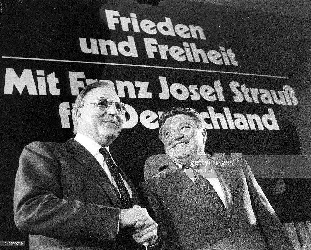 Resultado de imagen de Strauss csu 1980