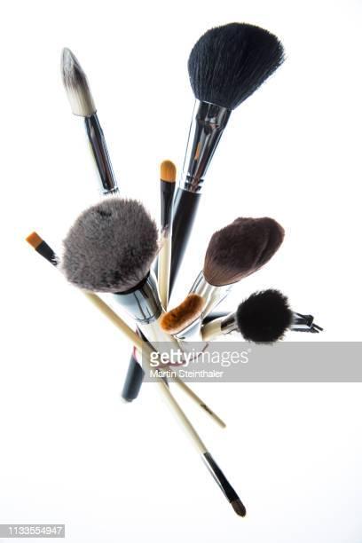 Strauss von Make-up Pinseln - zusammengebunden