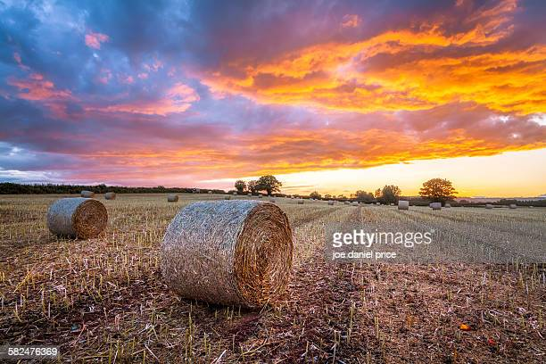 Straw Bales, Herefordshire, England