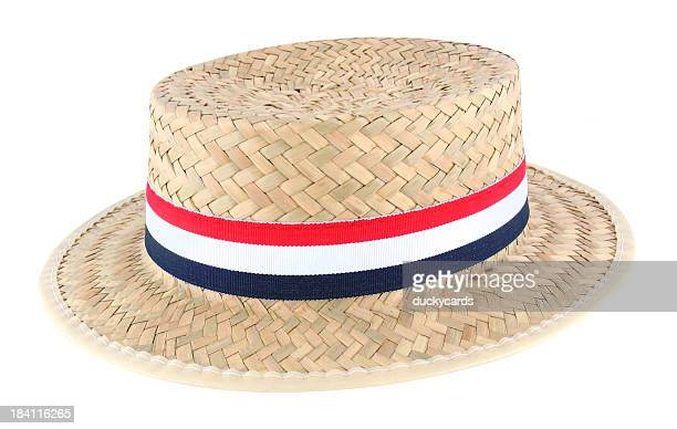 Straw Election Hat (with clipping path)