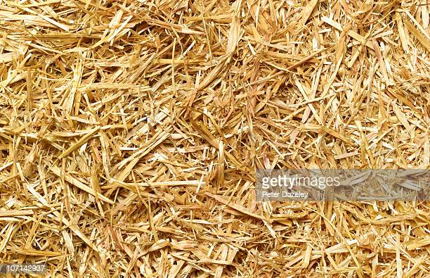 Straw full frame background