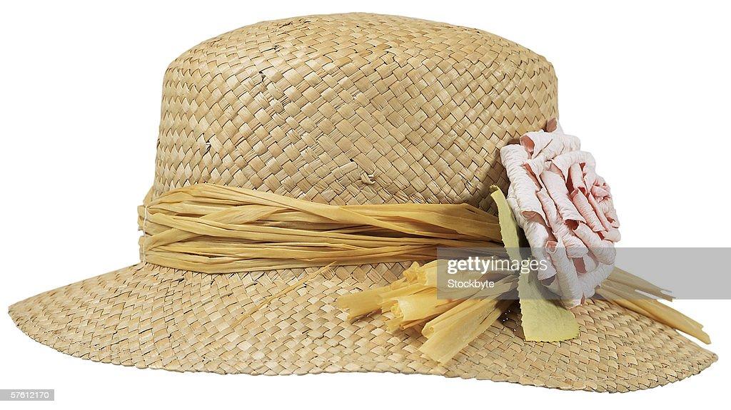 straw hat : Foto stock