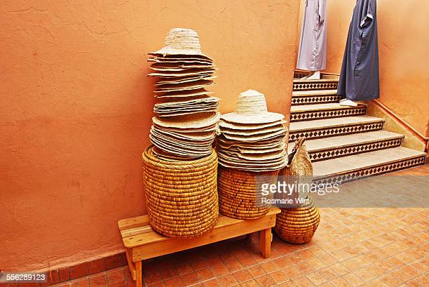 Straw hats for sale