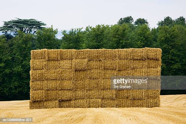 Strawbales, Cotswolds, Oxfordshire, UK