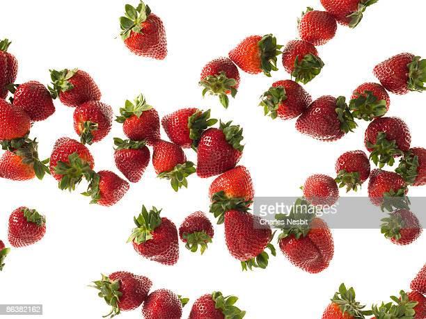 Strawberries Falling 1