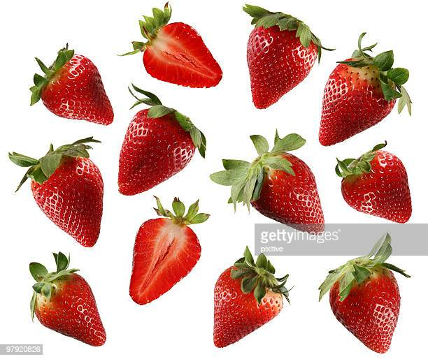 Fresas mezclar