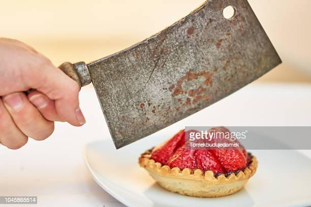 strawberries - vandalismus stock-fotos und bilder