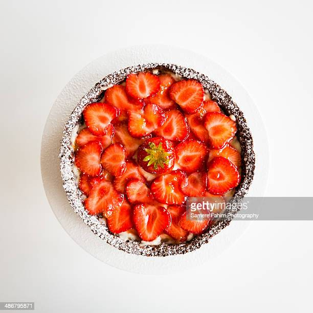 strawberries tart