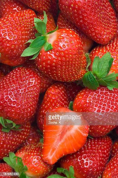 Erdbeeren Tapete