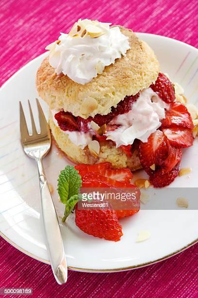 Strawberry Almond Shortcake