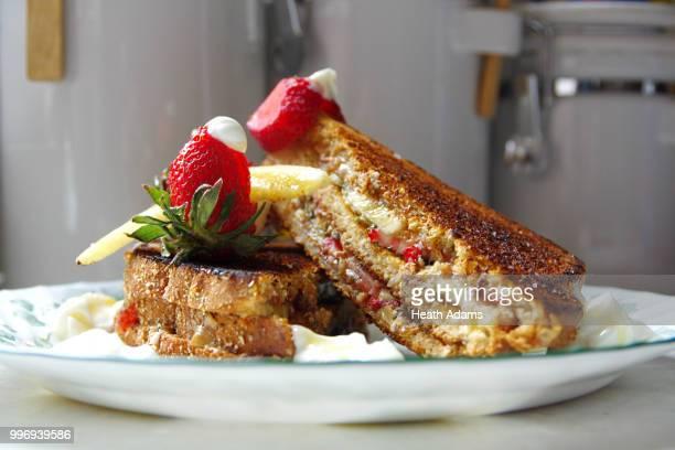 Strawberry Banana Sandwich