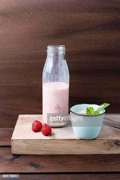 Strawberry buttermilk