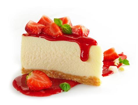 Strawberry cheesecake 179640507