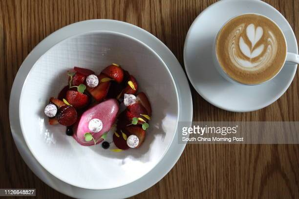 Strawberry dessert at Mano G/F The L Place 139 Queen's Road Central 26SEP14