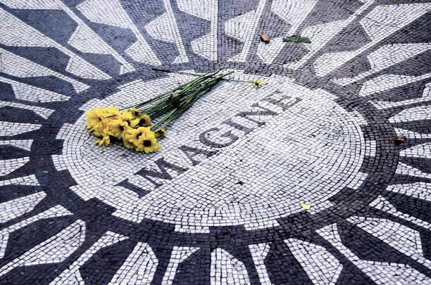 Strawberry Fields memorial, Central Park