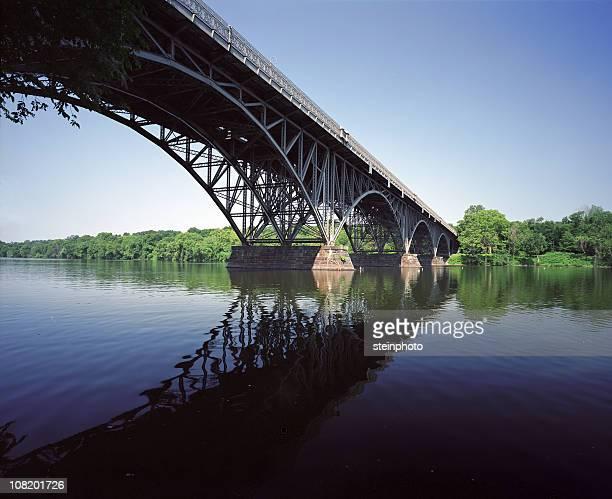 strawberry mansion bridge philadelphia - ironbridge shropshire stock pictures, royalty-free photos & images