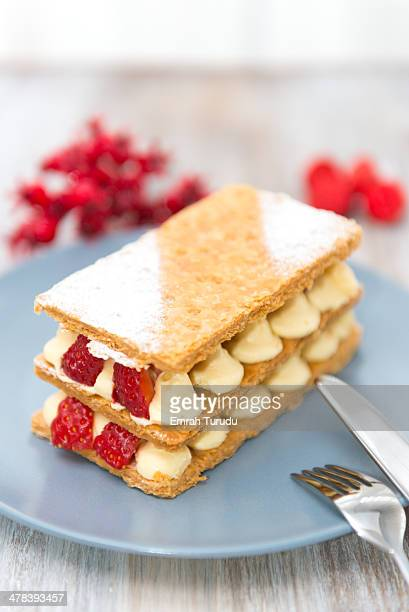 Strawberry millefeuille