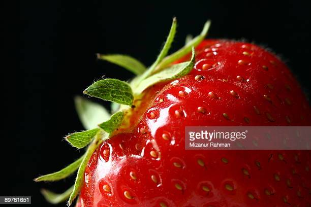 strawberry - mizanur rahman stock pictures, royalty-free photos & images