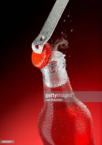 Strawberry Soda with Bottle opener