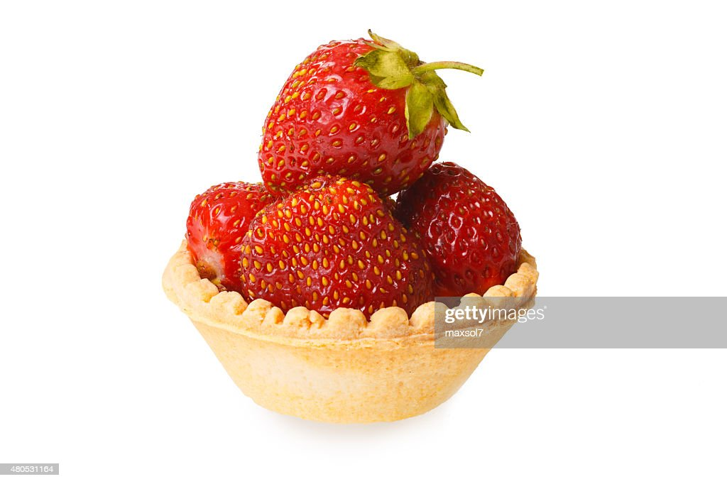 Strawberry tart : Stock Photo