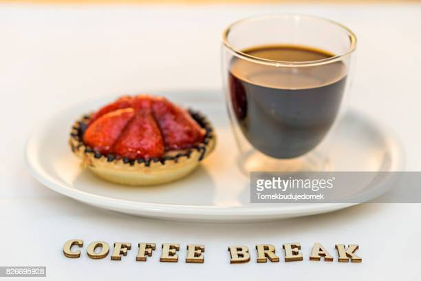 strawberry tart - intermission stock pictures, royalty-free photos & images