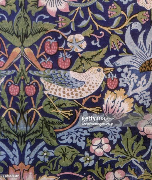 Strawberry Thief '1883 William Morris Tapestry