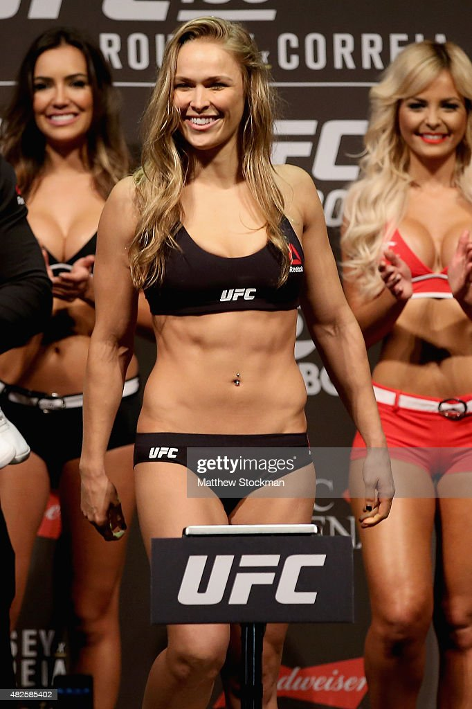 UFC 190 Weigh-in : ニュース写真