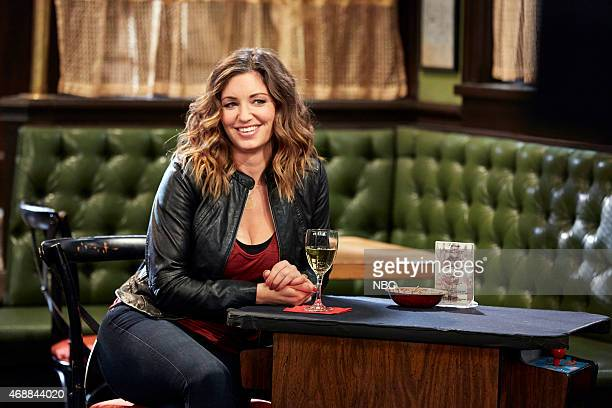 UNDATEABLE A Stray Dog Walks Into A Bar Episode 205 Pictured Bianca Kajlich as Leslie