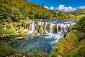 Strbacki Buk Waterfall - Croatia And Bosnia Border