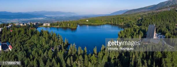 strbske pleso in high tatras - slovakia stock pictures, royalty-free photos & images