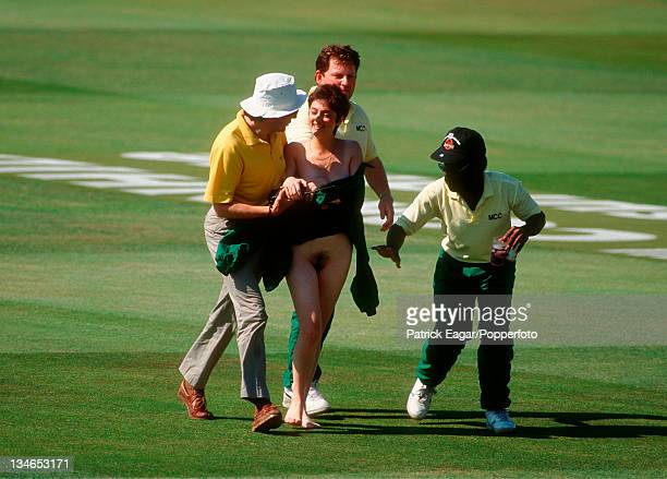 Streaker England v West Indies 2nd Test Lord's Jun 95