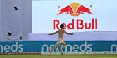 streaker invades playing area during 2nd