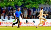 streaker is chased down sri lankan