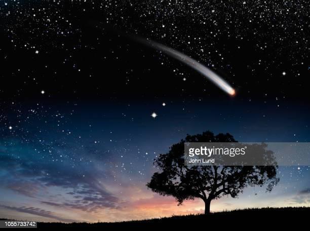 Streaking Comet