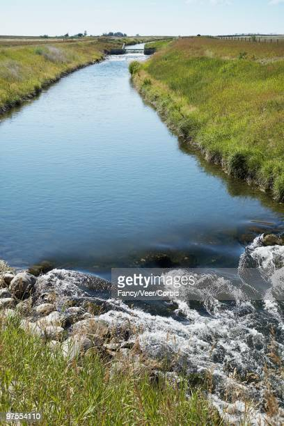 stream in countryside - climat stock pictures, royalty-free photos & images