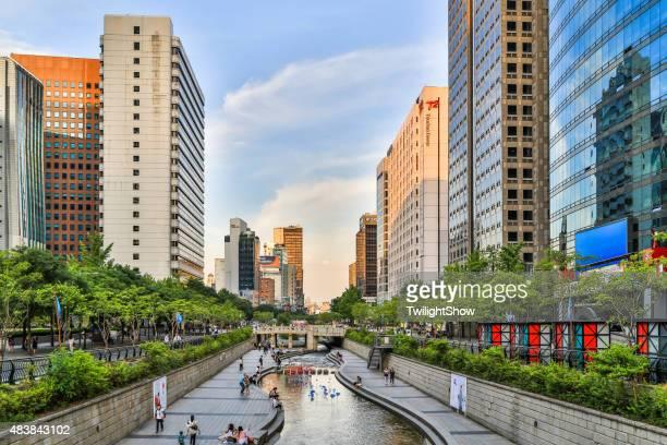 Stream In Seoul City