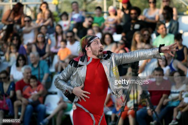 Streb Extreme Action at the SNFCC in Athens Greece June 22 2017 The members of Streb Extreme Action combine virtuosity and technical skill Despite...