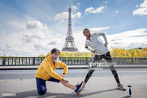 Strectching dans les rues de Paris