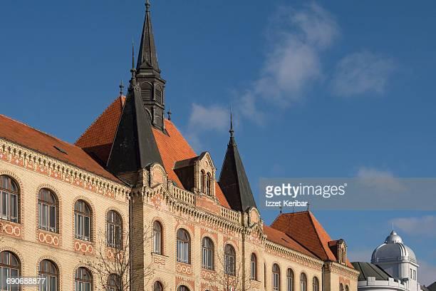 stredna priemnyselna buidling bratislava slovakia - traditionally slovak stock pictures, royalty-free photos & images