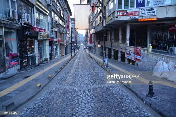 street amidst buildings in city - sivas stock pictures, royalty-free photos & images