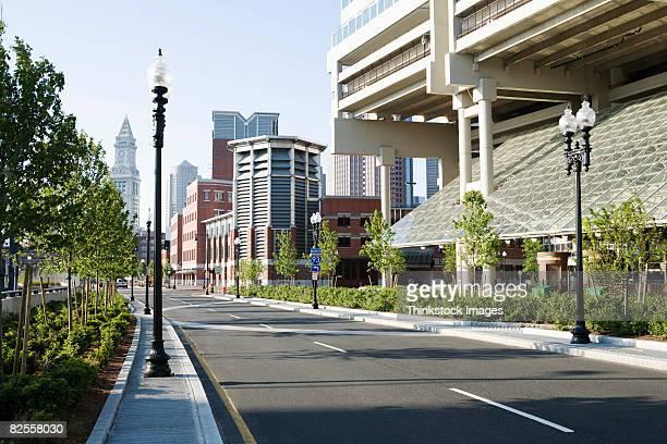 Street and buildings, Boston, Massachusetts