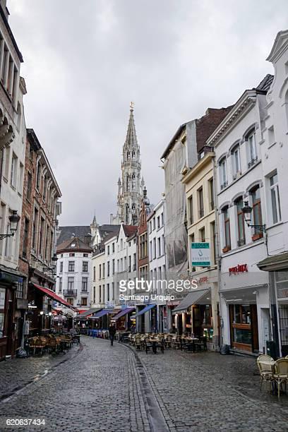Street around Grand Place