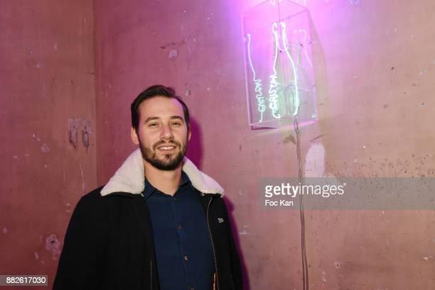 Street artist Le Diamantaire attends the Nektart Wine Party at Palais de Tokyo Art Club on November 29 2017 in Paris France