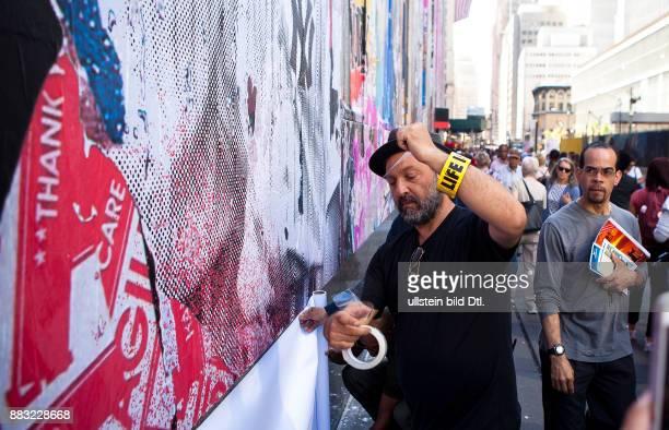 street artist MR BRAINWASH