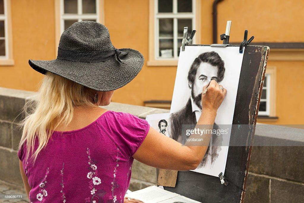 Street Artist : Stock Photo