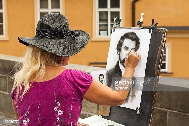 street artist - syolacan stock pictures, royalty-free photos & images