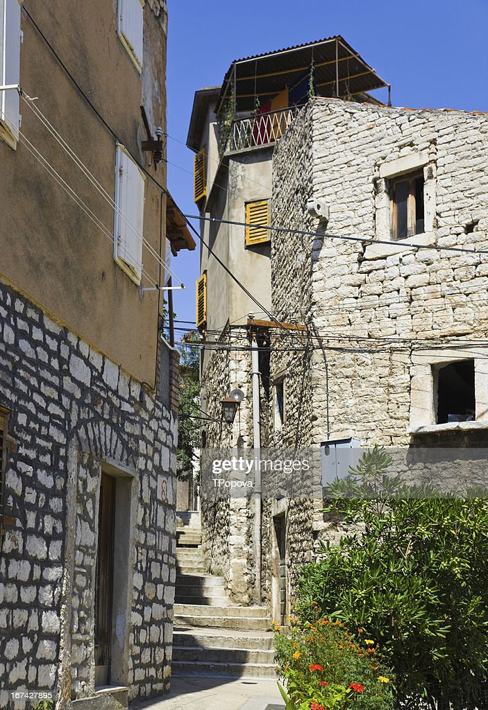 Street at Sibenik, Croatia : Stock Photo